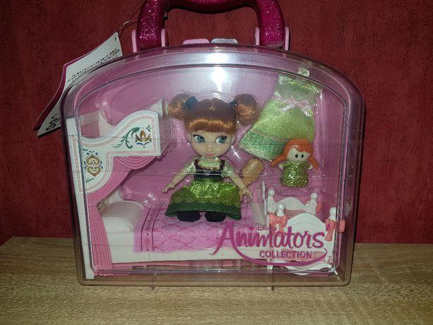 Кукла дисней Анна холодное сердце 2, Disney Animators Anna Mini.
