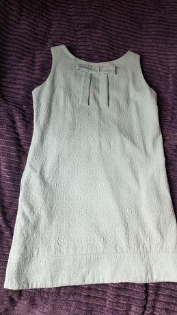 Miętowa sukienka Cocomone 40
