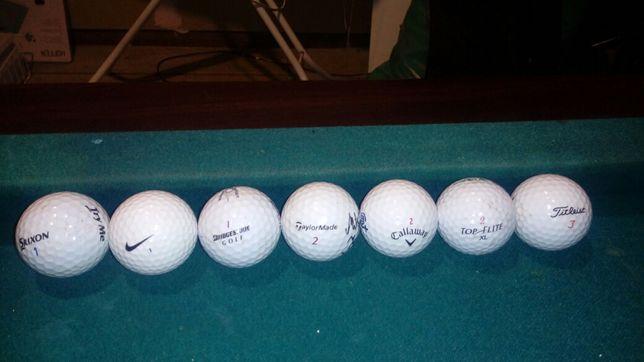 Pileczki golfowe rozne
