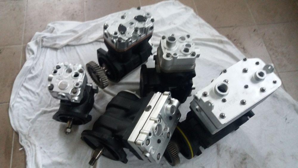 Sprężarka powietrza kompresor daf man scania iveco mercedes volvo Mielec - image 1