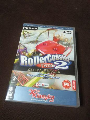 rollercoaster tycoon 2 złota edycja gra PC