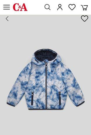 Куртка на мальчика рост 116