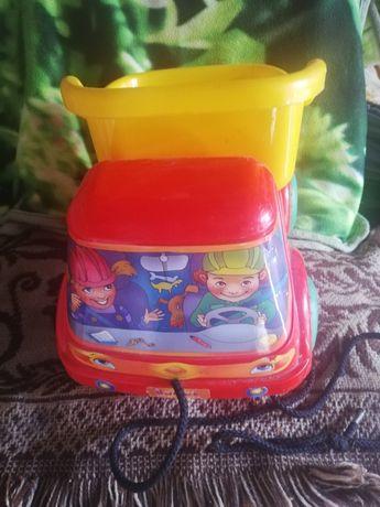 Samochód z naczepą