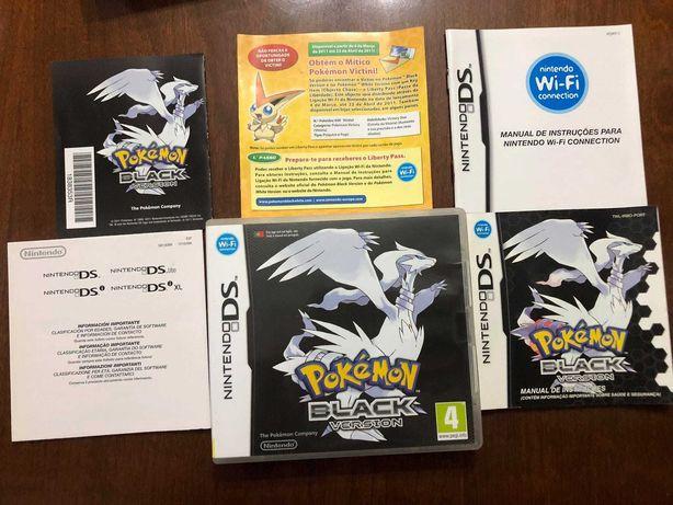 Pokemon Black | Nintendo DS / 3DS | Caixa + Manuais