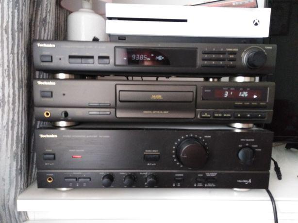 Zestaw stereo Technics. Stan idealny. X box też do sprzedania