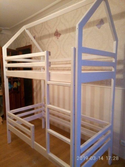 Двухъярусная кровать-домик 4500 грн. Киев - изображение 1