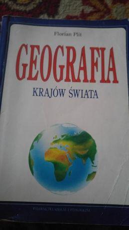 GEOGRAFIA KRAJÓW ŚWIATA dla szkoły Podstawowej Florian Plit