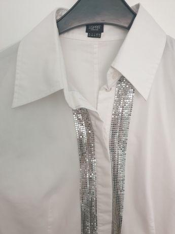 biała koszula bluska Esprit damska