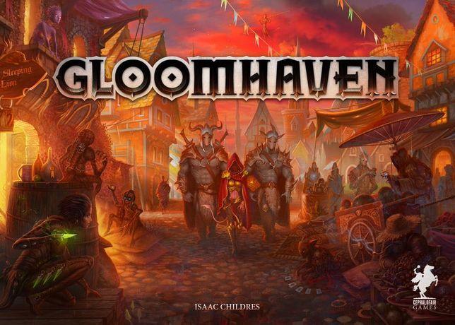gra planszowa GLOOMHAVEN - nowa - wersja POLSKA