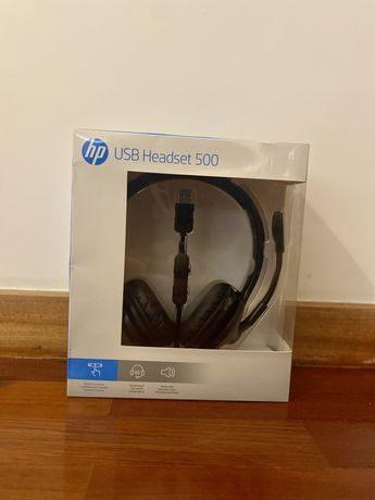 HP USB Headset 500 Novos