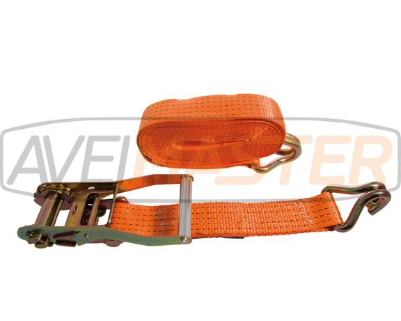 Cinta gancho duplo roq Asa Metal 50mm 0,5+14,5mt 5T. Ref 060035