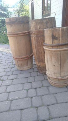 Продаються дерев'яні бочки