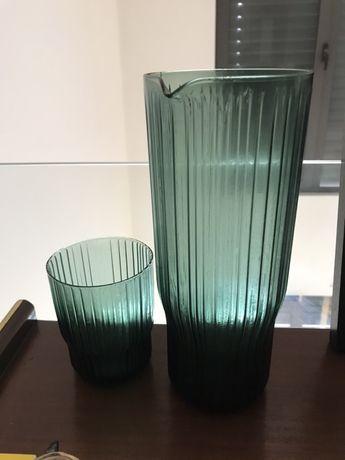 Conjunto: jarro + copo AREA / A loja do Gato Preto