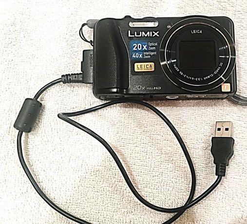 Máquina fotográfica Panasonic/Lumix com lentes Leica