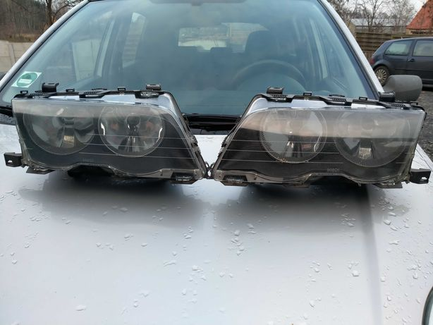 Lampa przednia BMW E46 oryginał Europa
