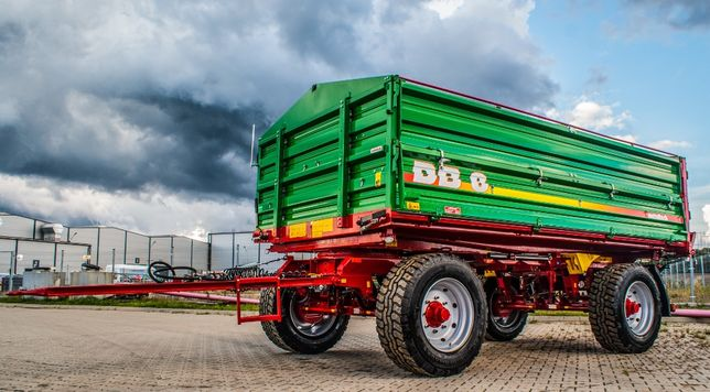 Przyczepa rolnicza wywrotka METAL-TECH DB 8 Ton | Pronar Wielton