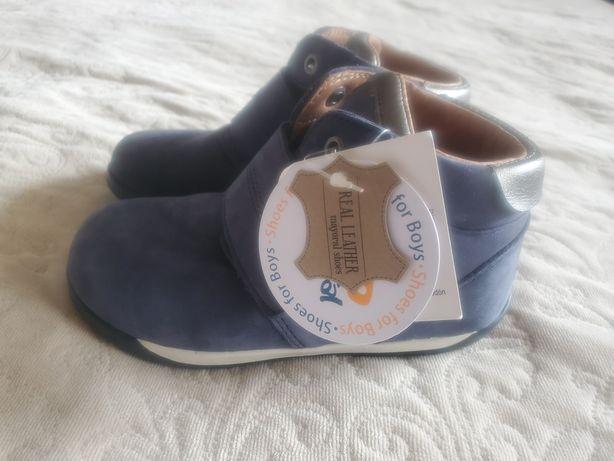 Ортопедические кожаные ботинки кроссовки черевики Mayoral. Размер 27