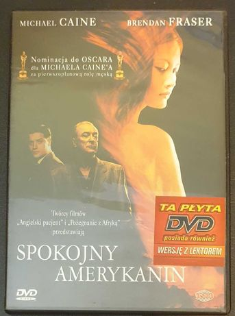 Spokojny Amerykanin - DVD Michael Caine