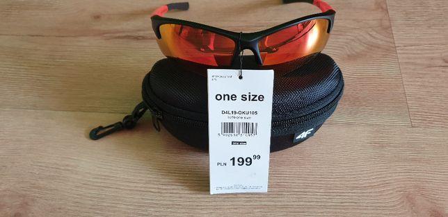 Nowe Okulary sportowe 4F D4L19 - OKU105