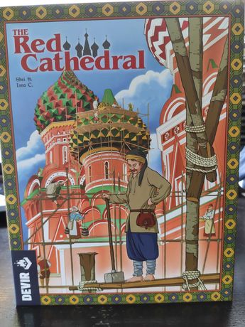 The Red Cathedral (pt) jogo de tabuleiro