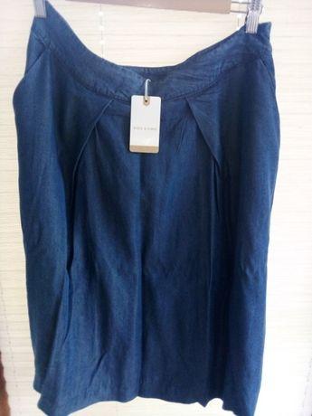 Spódniczka jeansowa granat roz L Nice & Chic