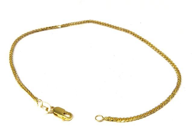 Nowa złota bransoletka Kłos 585 1,33 g Pudełko gratis