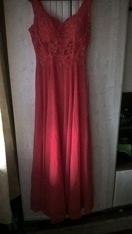Sprzedam długą sukienkę na sylwestra,studniówkę