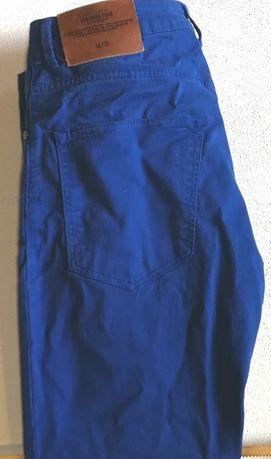 Calças S38 várias marcas cores 3€