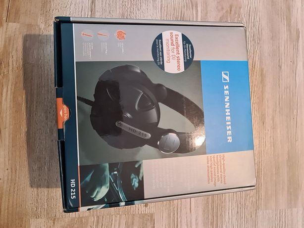 Słuchawki SENNHEISER HD 215 jak NOWE