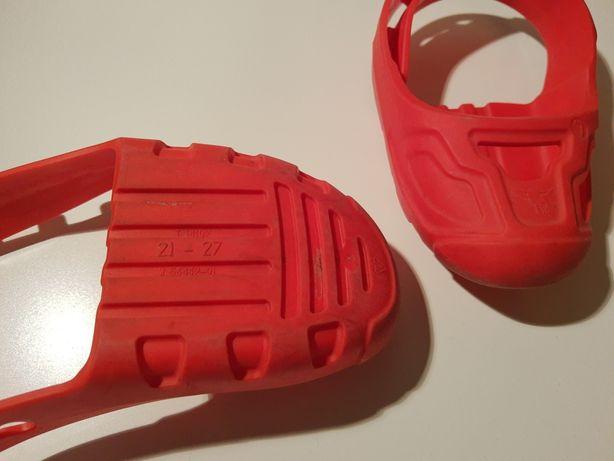 Накладки на детскую обувь для беговела, велосипеда