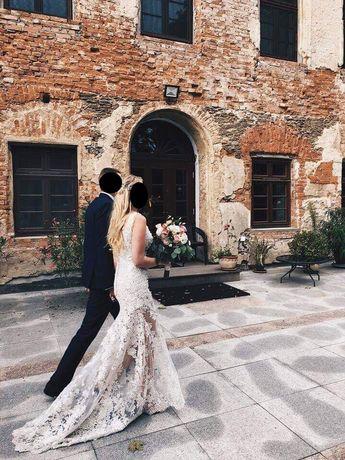 Suknia ślubna by Ewa Stepaniuk kryształki Swarovskiego rozmiar 36
