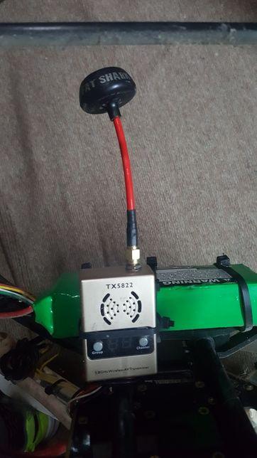 Transmissor TX5822 com antena fatshark