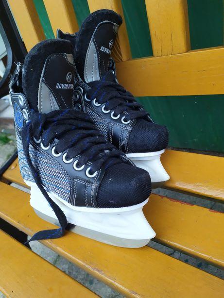 Sprzedam łyżwy hokejowe roz 28