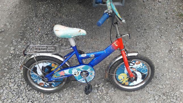 Продам детский велосипед на 16 колёсах