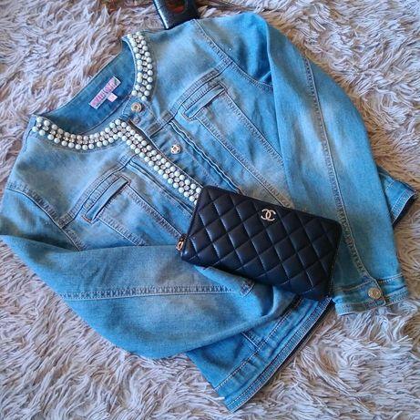 Курточка джинсова для дівчинки