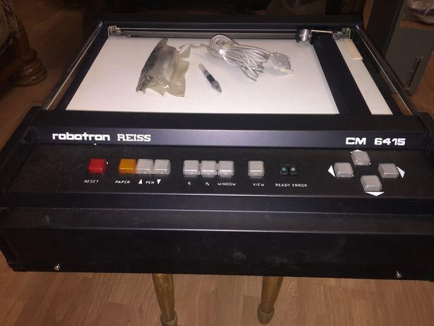 Ретро графопостроитель Robotron REISS 6415,1989г. Пр-во ГДР