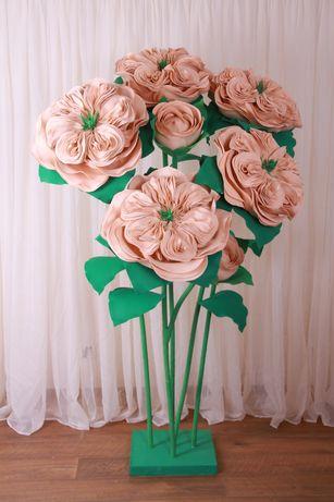 Ростовые цветы, фотозона
