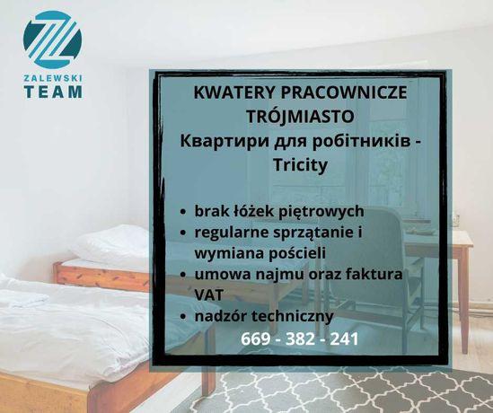Zalewski Team - Kwatery dla pracowników/szeroki wybór lokali