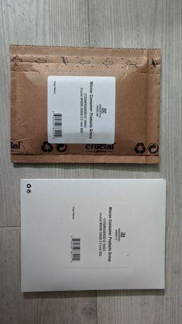 """Dysk SSD 250GB Crucial MX500 2,5"""" CT250MX500SSD1Z.16AD3 nowy!"""