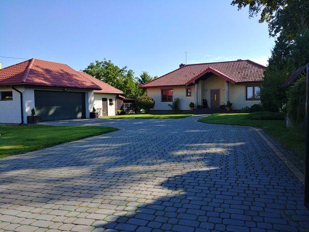 Dom 125m2 z dużą działką, zadbany ogród, staw