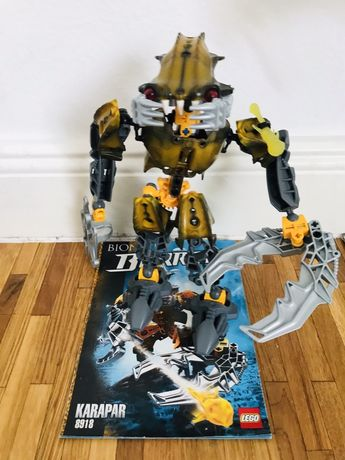 Lego Bionicle karapar unikat