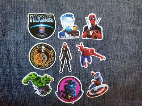26 Stickers/autocolantes Vingadores (portes grátis)