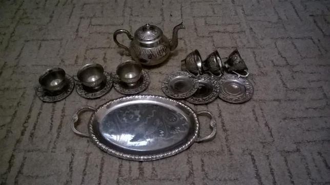 Кофейный сервиз, Турция , антиквариат, статуэтка, коллекционирование.