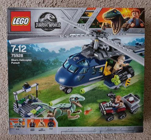 LEGO JURASSIC WORLD 75928 - Pościg za Śmigłowcem - NOWY ORYGINALNY !!
