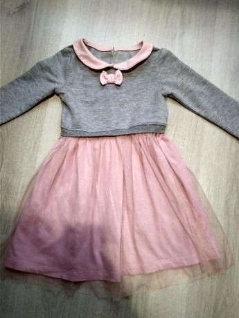 Платье нарядное для девочки юбка с фатином