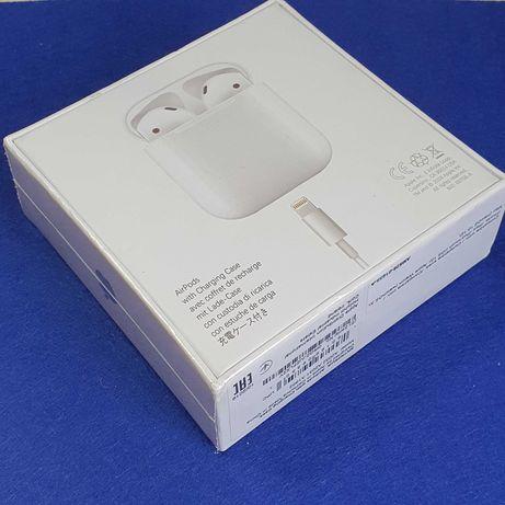 Наушники Apple Airpods 2 с проводным зарядным кейсом Новые