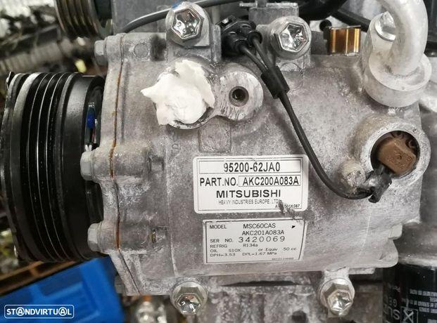 Compressor Ar condicionado Susuki Swift 1.3 16V de 2012, ref 95200-62JA0.