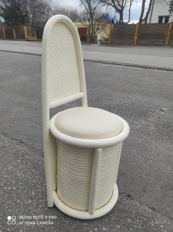 Fotel rattan fotel ratan fotel rattanowy toaletka dla dziecka