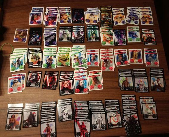 Karty Star Wars z Kauflandu