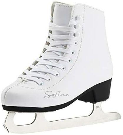 Białe łyżwy damskie Safino tecnopro rozm. 39, wkładka 25 cm